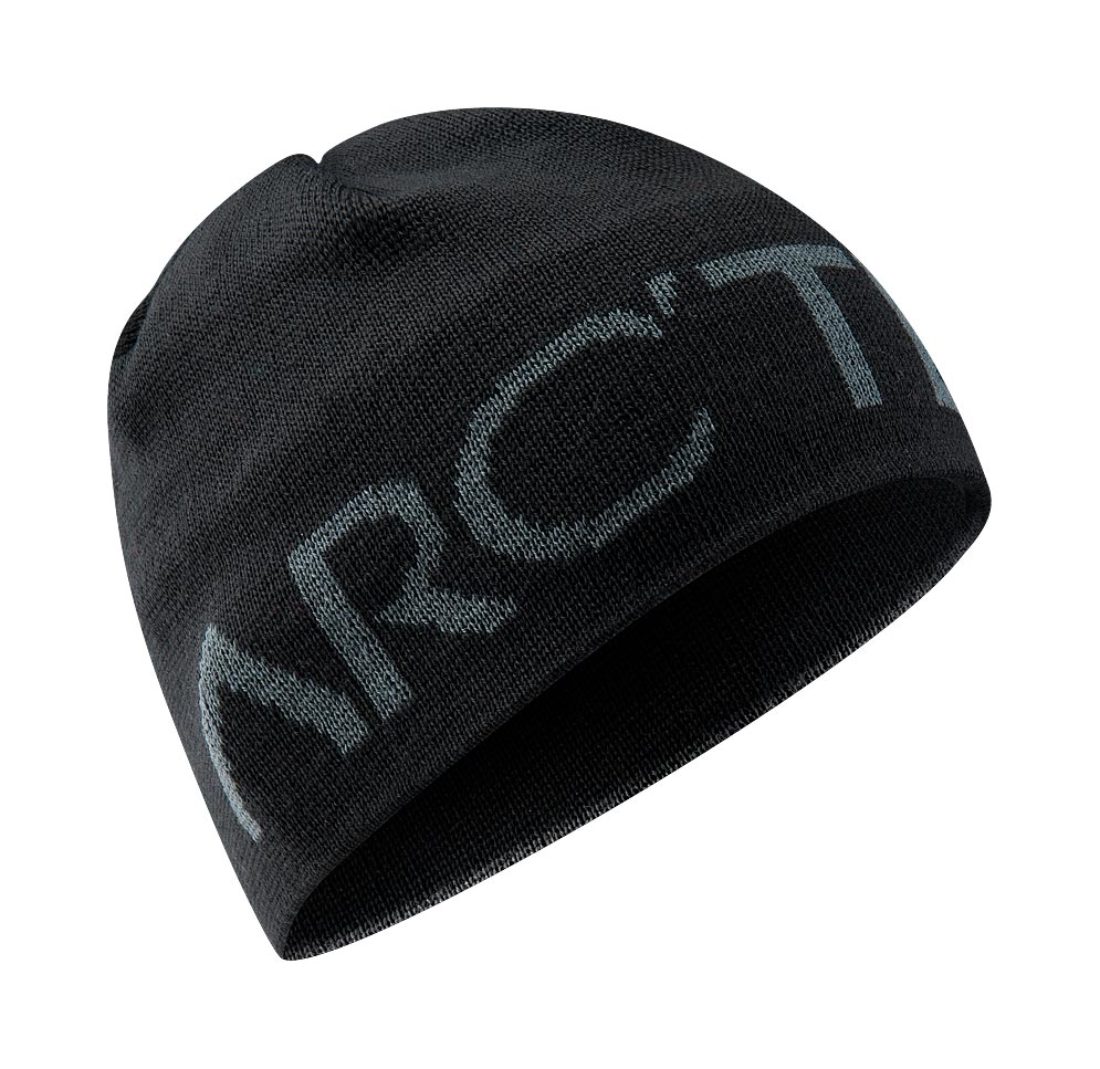 Arcteryx Black Word Head Toque
